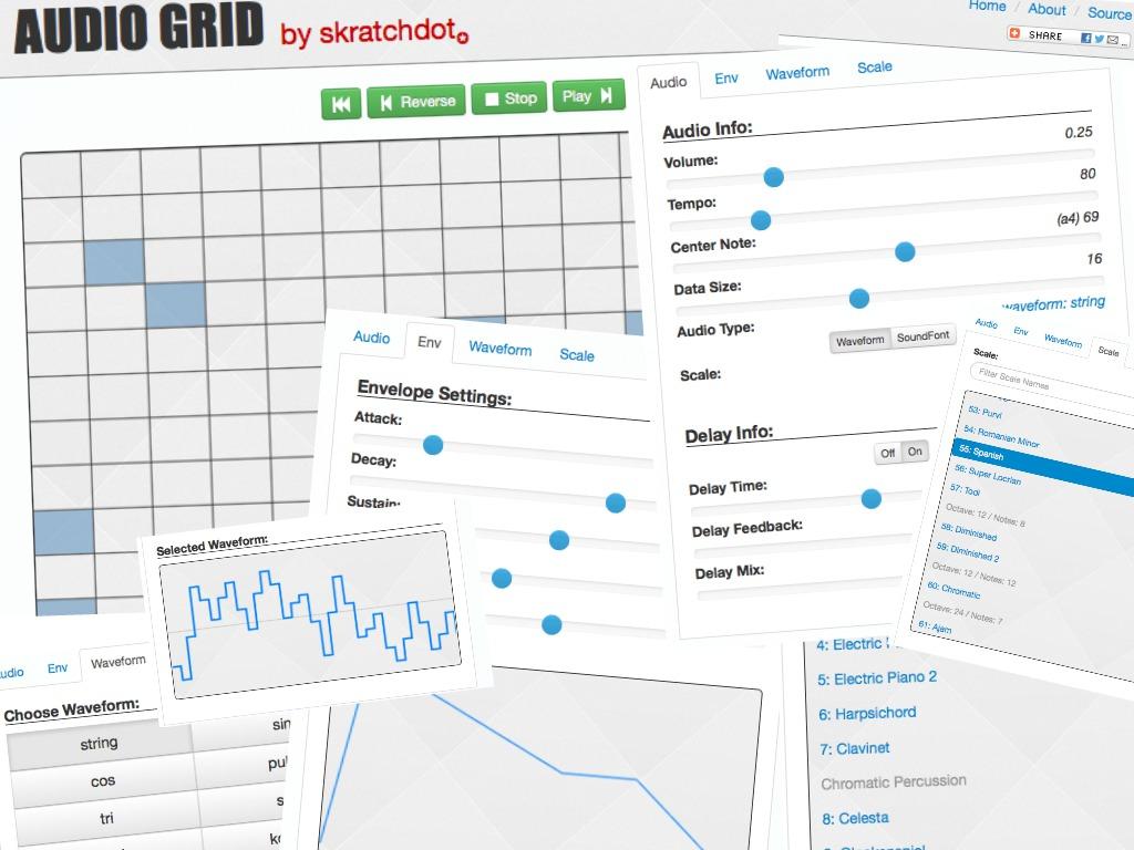 Audio Grid